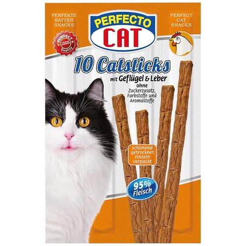 Perfecto Cat lazdėlės katėms su paukštiena ir kepenėlėmis 50g