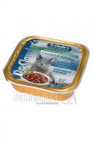DR. CLAUDER'S drėgnas maistas katėms su krevetėmis ir menke padaže