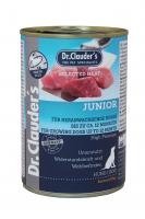 DR. CLAUDER'S JUNIOR subalansuotas drėgnas maistas jaunų šunų imuninei sistemai 400g