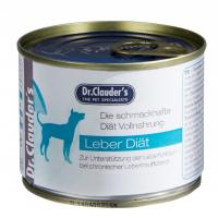 Dr.Clauder's LPD Hepatic Diet drėgnas maistas šunims, sergantiems kepenų ligomis 400g