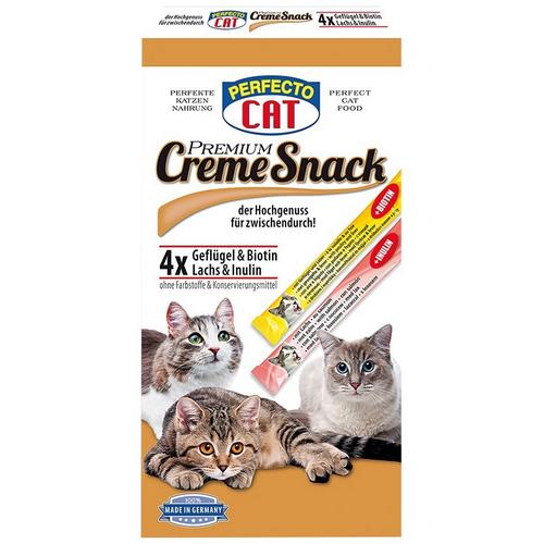 Perfecto Cat Cream Snack kreminis užkandis katėms 120g
