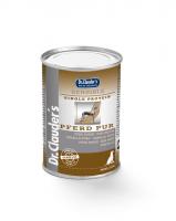 DR. CLAUDER'S SENSIBLE drėgnas maistas suaugusiems alergiškiems šunims su arkliena 400g