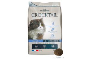 CROCTAIL Adult Sterilized su paukštiena 2kg