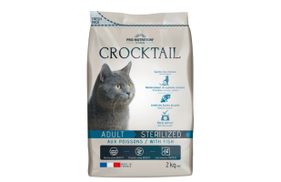 CROCTAIL Adult Sterilized su žuvimi