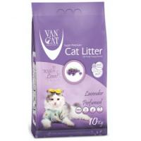 VAN CAT Super Premium kraikas katėms, levandų kvapo.