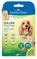 FRANCODEX Repelentinis antkaklis nuo erkių, blusų ir uodų