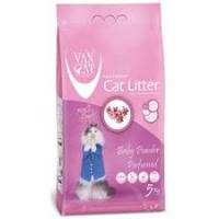 VAN CAT Super Premium kraikas katėms, Kūdikių pudros kvapo