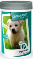 PPet-Phos Ca/P=1.3 vitaminai augantiems šunims ir laktuojančioms kalėms
