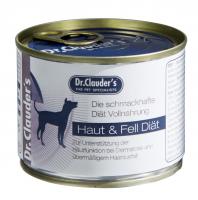 """Dr. Clauder's FSD """"FUR&SKIN"""" drėgnas maistas odos problemų turintiems šunims"""