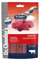 DR. CLAUDER'S vytintos jautienos filė skanėstas juostelėmis šunims